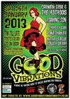 Flyer thumbnail for Good Vibrations: Carmen Ghia & The Hotrods + Roaming Son