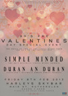 Flyer thumbnail for Simple Minded + Duran An Duran