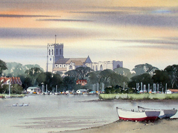 Christmas Art Exhibition: Watercolours, Oils And Prints By Alan Hayden picture