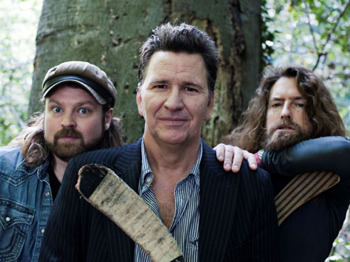 The Lumberjacks : Stewart Francis, Craig Campbell, Glenn Wool picture