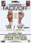 Flyer thumbnail for Comedy Face/off: Eddie Kadi, Danny 'Slim' Gray, Kevin J, Kane Brown