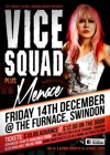 Flyer thumbnail for Vice Squad + Menace