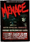 Flyer thumbnail for Menace