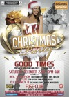 Flyer thumbnail for Good Times Xmas Party: DJ Neil Harrison + DJ Clue + Barney B