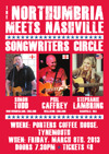 Flyer thumbnail for Northumbria Meets Nashville: Simon Todd + Stephanie Lambring + Phil Caffrey
