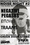 Flyer thumbnail for Noise Night#2: Negative Pegasus + Bitches + Traams