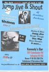 Flyer thumbnail for Jump Jive And Shout Rockin' Blues Special: Sixteen & The Sidewinders