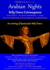 Flyer thumbnail for Arabian Nights Show - A Belly Dance Extravaganza: HAZIZ Egyptian Belly Dancers