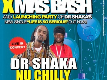 Pre Xmas Reggae Bash: Dr Shaka + Nu Chilly + Starluv Sound (Birmingham) + Lucky Bob (Silver Mountain) picture