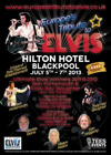 Flyer thumbnail for Europe's Tribute To Elvis® - Ultimate Elvis Preliminary Festival & Championships