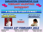 Flyer thumbnail for Valentines Shownight: Garry Pease As Rod Stewart