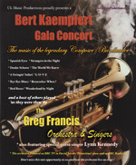 Flyer thumbnail for A Bert Kaempfert Gala Concert: The Greg Francis Orchestra and Singers + Lynn Kennedy