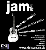 Flyer thumbnail for Jam Night