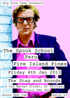Flyer thumbnail for Big Pink Cake: The Spook School + Peru + Fire Island Pines + Big Pink Cake DJs