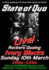 Flyer thumbnail for Glasquo Day 2: State Of Quo + Rockers Quoing