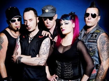 KMFDM + Sheep On Drugs + Ashestoangels + Her Dark Embrace picture