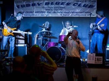 Dance Madness Hits Coleford: Otis Mack & The Tubby Bluesters picture