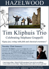 Flyer thumbnail for Tim Kliphuis Trio In Concert: Tim Kliphuis