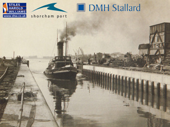 Shoreham Harbour – Past, Present & Future picture