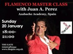 Flyer thumbnail for Flamenco Dance Workshop: Juan Antonio Perez