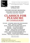 Flyer thumbnail for Classics For Pleasure By Candlelight: Stephen Ellery, English Concert Orchestra