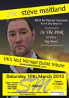 Flyer thumbnail for Steve Maitland Is 'The Buble Tribute Show'