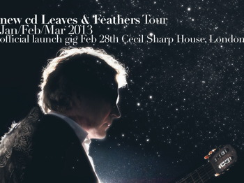 Leaves & Feathers Official Cd Launch Gig: Reg Meuross + Bethany Porter picture