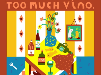 Billy Presents 'Too Much Vino' Exhibition Launch picture