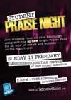 Flyer thumbnail for Student Praise Night: Origin Scotland