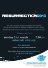 Flyer thumbnail for Resurrection 2013: Origin Scotland