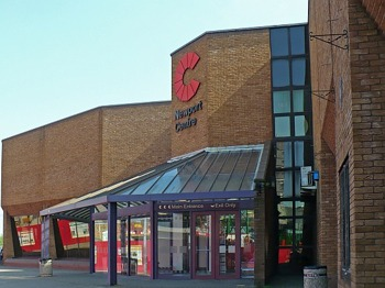 Newport Centre venue photo