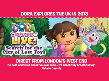 The Search For The City Of Lost Toys : Dora The Explorer Live! picture