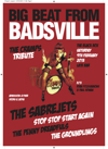 Flyer thumbnail for Big Beat From Badsville: The Sabrejets + Stop Stop Start Again + The Penny Dreadfuls + The Groundlings