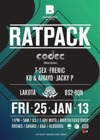 Flyer thumbnail for Boomshanka: Ratpack + Codec