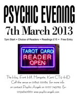 Flyer thumbnail for Psychic Angels Present A Psychic Evening: Tracy Fance, Psychic Angels
