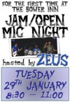 Flyer thumbnail for Jam/open Mic Night (Hosted By Zeus): Zeus (UK)