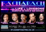 Flyer thumbnail for Bacharach: Leon Lopez + Sandra Marvin + Edward Baruwa + Stephanie Fearon + Alana Maria
