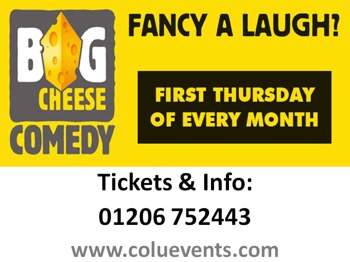Big Cheese Comedy Club Colchester: Rob Deering, Sol Bernstein, Martin Beaumont, Del Strain picture