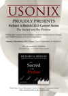 Flyer thumbnail for The Sacred And The Profane: Richard Bielicki