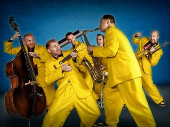 Big Jive All-dayer: The Jive Aces + 'Mr Dynamo' Si Cranstoun + The Regular Joes picture