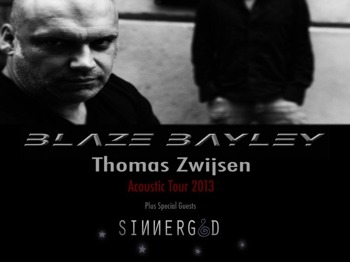 Acoustic Tour: Blaze Bayley + Sinnergod picture