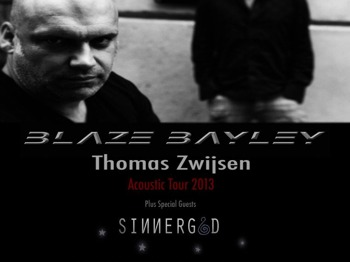 Acoustic Tour: Blaze Bayley + Sinnergod + Thomas Zwijsen picture