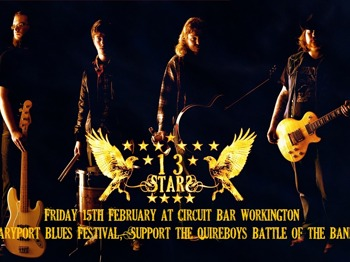 Suport The Quireboys Battle Of The Bands: 13 Stars picture