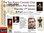 Flyer thumbnail for Two Rivers Comedy Club: Matt Rees, Tim Shishodia, Ant Dewson, Phil Higgins, Pete Beckley