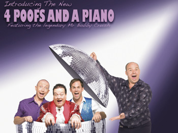 Bigger, Louder, Harder, Longer!!: The New Four Poofs And A  Piano, Bobby Crush picture