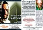 Flyer thumbnail for The Gospel Of Matthew: George Dillon
