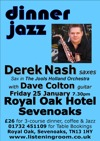 Flyer thumbnail for Dinner Jazz: Derek Nash + Dave Colton