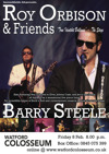 Flyer thumbnail for Roy Orbison & Friends 75 Special: Barry Steele + Peter Jackson + Boogie Williams as Jerry Lee Lewis + Paul Molloy as GI Elvis
