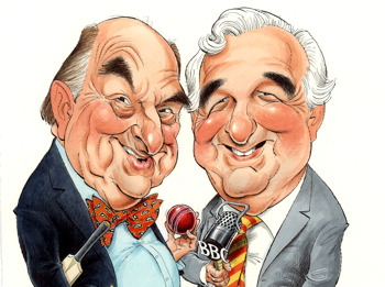 Blofeld & Baxter - Memories Of Test Match Special: Henry Blofeld, Peter Baxter picture