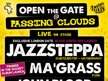 Open The Gate: Jazzsteppa + Ma'grass + Lyric L + John Blood And The Highlys picture